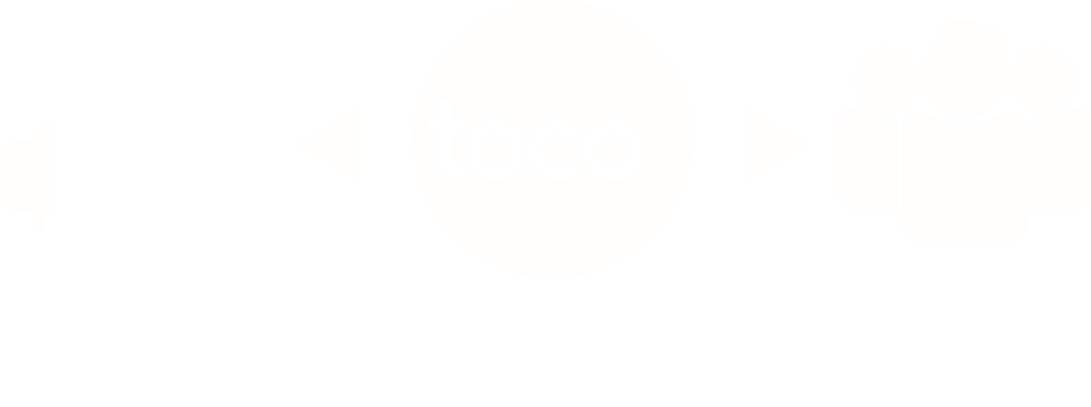 toco makes : New Fields & New Markets for : All Creators. toco supports : CSR & Branding via Creative for : All Companies.